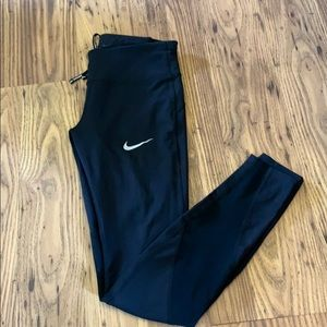 Nike Dri-Fit Mesh Insert Leggings